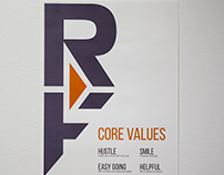 Rokform Core Values Poster
