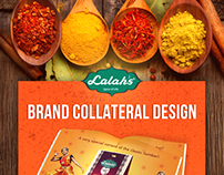 LALAH'S - Brand Collateral Design