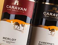 Caravan - wine design / Caravan - дизайн вина