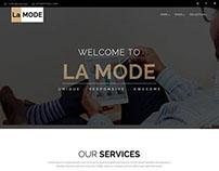 La Mode - Responsive HTML5 Multipurpose Template