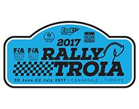 2017 Rally Troia Logo Design