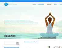 Redesign page of meditation school
