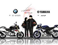 motorcycle illust