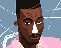 Big Daddy Kane portrait