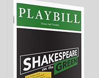 Playbill | Shakespeare on the Green