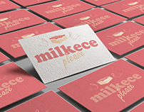 Milkece Logo Project
