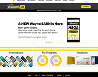 Website for Sprint Rewards Me