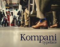 Kompani typeface