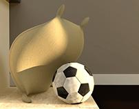 Flour Sack Soccer Trick