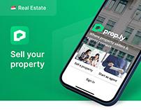 Real Estate Marketplace | App Dev & UX/UI