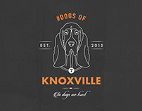 Dogs of Knoxville Branding and Pattern Design