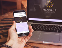 Mandala Kustom Hair Website Design