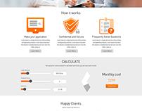 Banl Loan Website