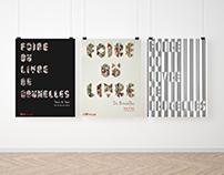 Posters - Foire du Livre de Bruxelles.