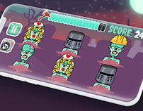 Mobile Game - Beat-a-Zombie