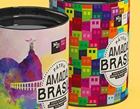 Pátria Amada, Brasil! Branding & Package Design