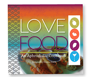 Cookbook Design | Love Food |  Aphrodisiac