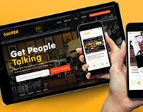 Swiper App and Website Design