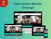UI Design Template - UI/UX Website Concept