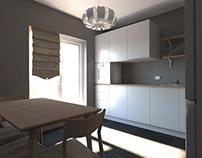 One room Apartment Design (IKEA) | Russia