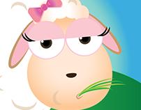lazy sheep