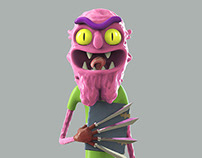 Scary Terry Toy by GRAZA