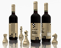 Label Design Vancouver / Chess + Wine and Design Labels
