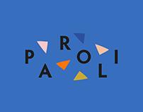 Brand Identity, UX / UI Design PAROLI