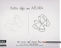 Apsara extra dark pencil