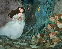 Grimm's fairy tales illustration