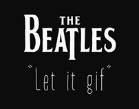 The Beatles - Let it gif