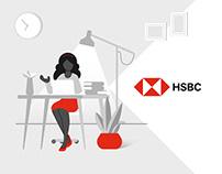 HSBC Illustration & Layout