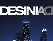 Brand design for DesiniAD Chicago 2012