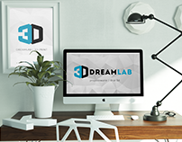 DreamLab 3D - corporate identity