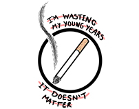 I'm wasting my young years...