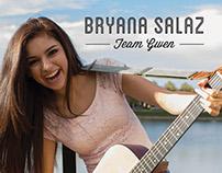 "Bryana Salaz ""The Voice"" Promo Pieces"