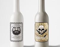 Label Design: Big Bad Bob Wiskey Company