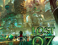 """Lost in OZ"" Concept Art"