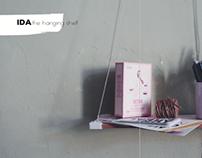 'Ida' Hanging shelf