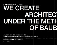 K. WATABE ARCHITECT OFFICE | Web Design