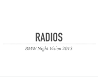 BMW NIGHT VISION radios 2013