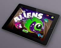 "Game for mobile ""Aliens"""
