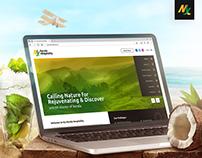My Kerala Hospitality Website Design