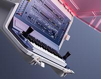 Deckard's dream synthesizer adventure case & studio