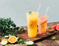 天辰果茶|品牌識別設計 TAINCHEN JUICE Brand Identity