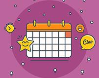 Advent Calendar Illustration