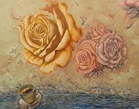 Flores en el mar