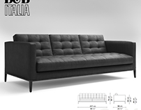 My 3D model - B&B ITALIA ac lounge sofa