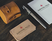 Survival Pills Packaging Concept