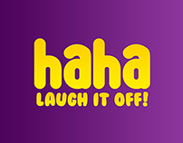Haha - Comedy Channel Branding